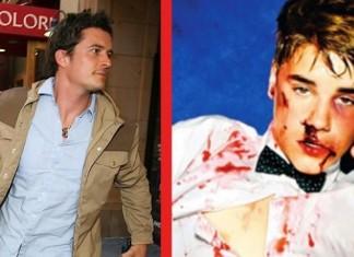 Orlando Bloom Justin Bieber Fight
