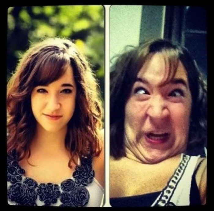 Pretty Girls Ugly Faces (18)