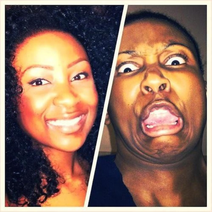 Pretty Girls Ugly Faces (2)
