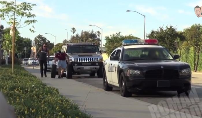 Girl Gets Hit By Car Prank Video