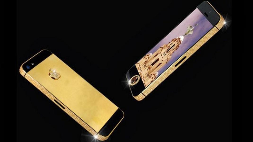 The Stuart Hughes Black Diamond iPhone 5