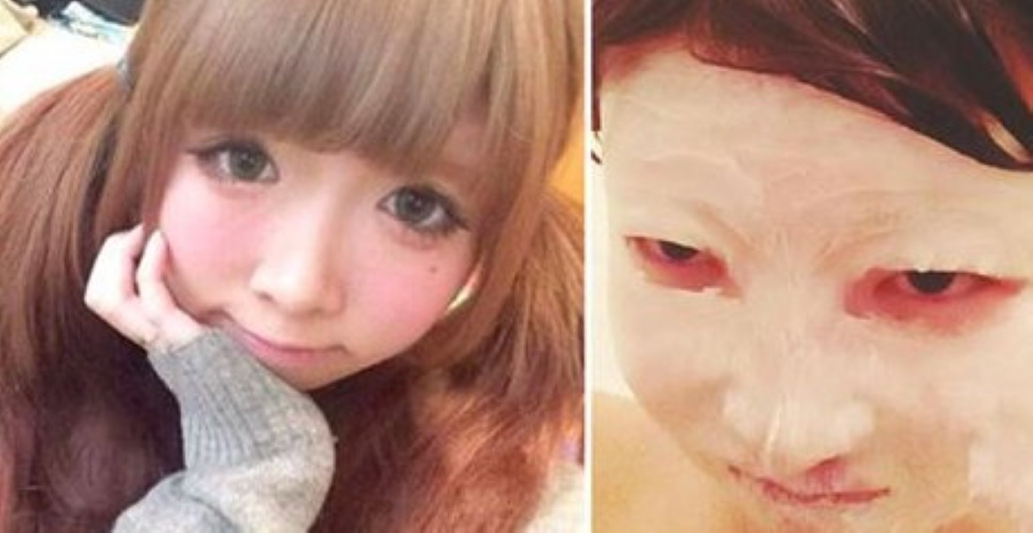 Japanese Guy Left Shocked When He Sees His Cute Girlfriend -1321