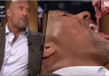 the rock eats candy