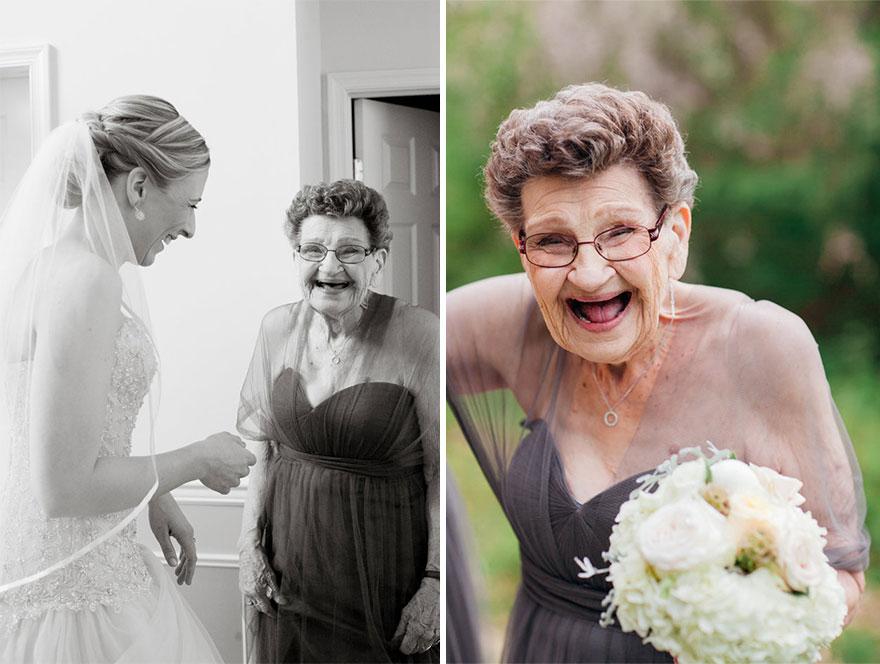 grandmother bridesmaid 2