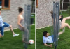 slide tackle prank