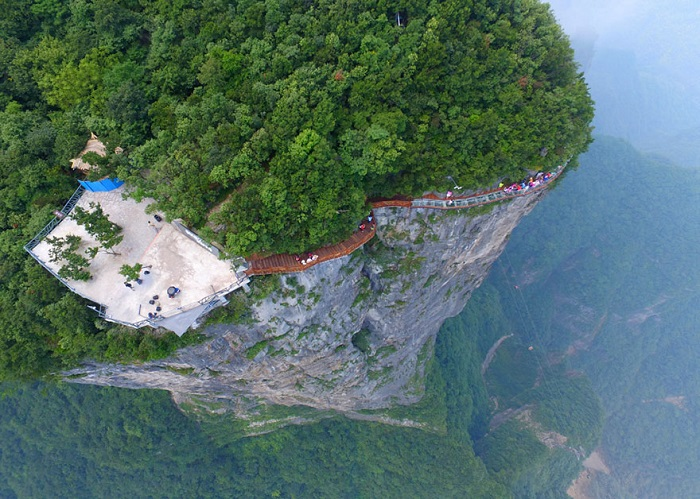 glass walkway in china 3