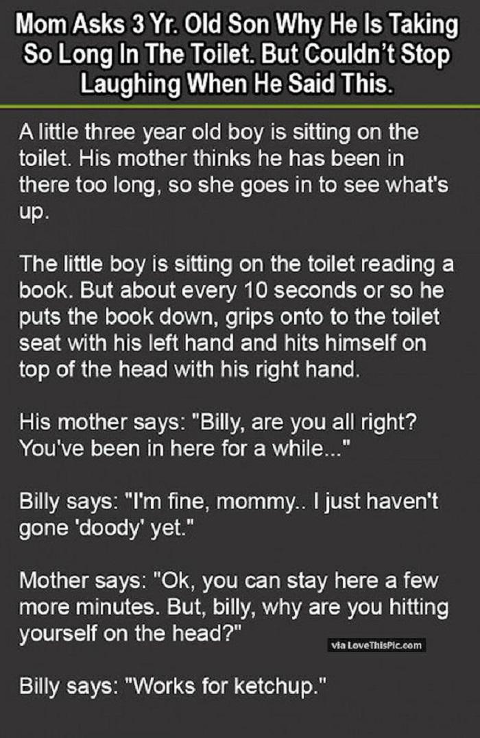 little boy toilet