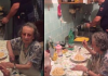 police cook for elderly
