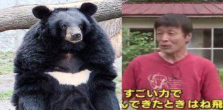 Japanese man fights bear 1
