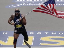 Boston Marathon Amputee