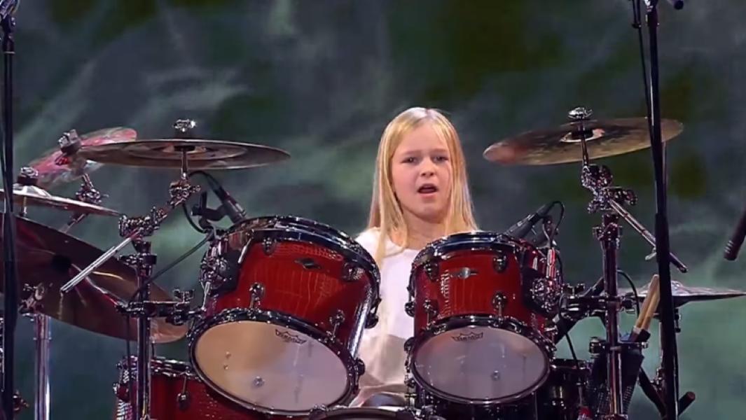 Drummer Wins Denmark's Got Talent