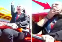 Pigeon Explodes Mans Face Rollercoaster (1)